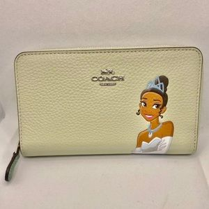 Coach Disney Tiana Wallet New with Tags